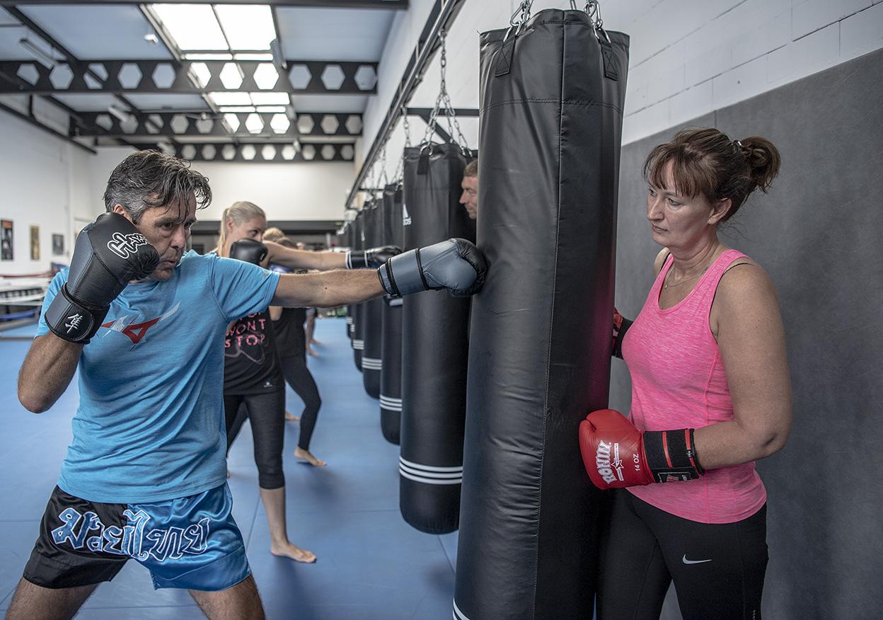 Conditie en- bokszaktraining Yamato Gym Groepsles