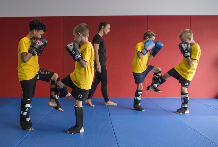 Yamato Gym kickboksen voor de jeugd