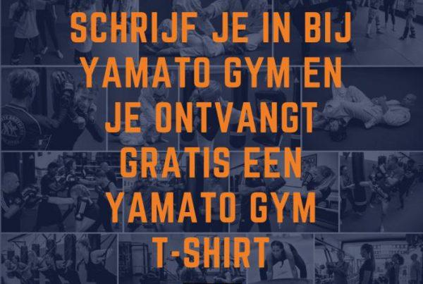 Yamato Gym T-shirt campagne