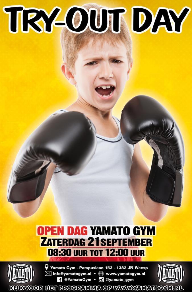 Open Dag 21 Zaterdag september